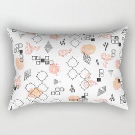 Modern Memphis Rectangular Pillow
