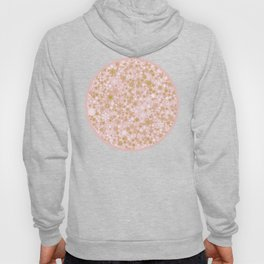 A Thousand Snowflakes in Rose Gold Hoody