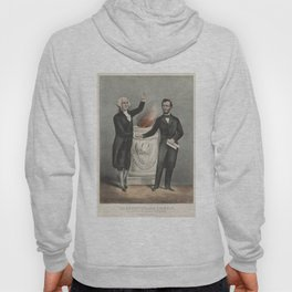 Vintage American Founding Fathers Illustration (1865) Hoody