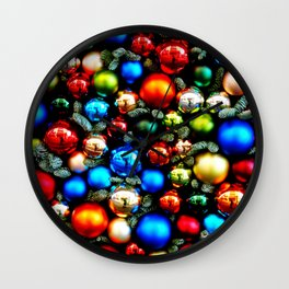Christmas1 Wall Clock