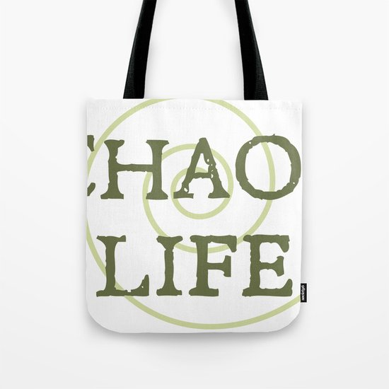 ChaosLife: The Print Tote Bag
