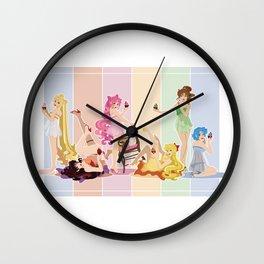 Sailor Moon Pinup - Cupcakes Wall Clock