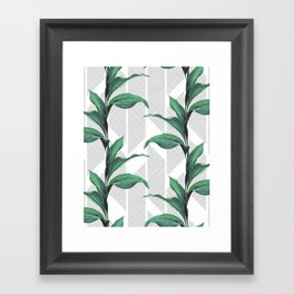 Greenhouse -jungle Framed Art Print