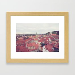 Prague Czech Republic Photography Rome Italy Sale Wall Decor Art Square Print Set Framed Art Print