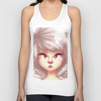 pastel Tank Tops featuring pastel by ebazii