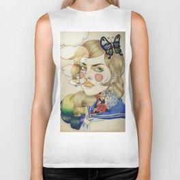 Sailor Girl. Biker Tank