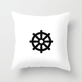 Dharmachakra 1 Throw Pillow