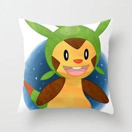 Chespin Pokémon Throw Pillow