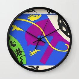 Horse Rider and Clown - Henri Matisse Wall Clock