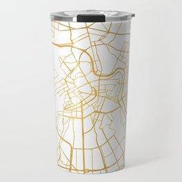 SAINT PETERSBURG CITY STREET MAP ART Travel Mug