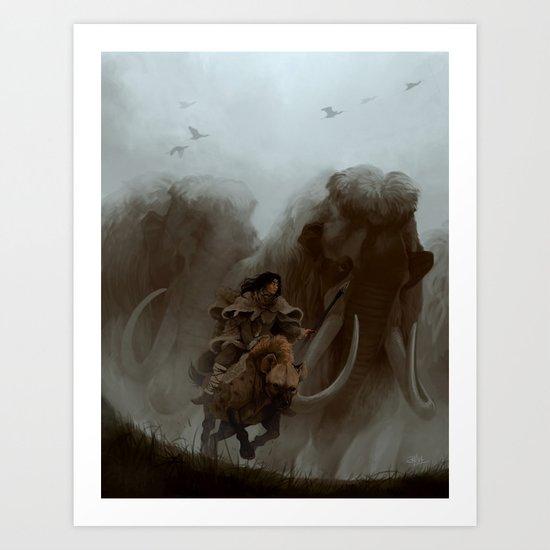 The Mist Art Print