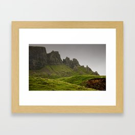 impressions of scotland - quiraing IV Framed Art Print