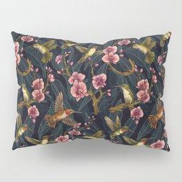 Hummingbird Pattern Pillow Sham