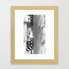 nouvelle chicane Framed Art Print