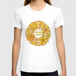 Aquarius in Petrykivka style T-shirt