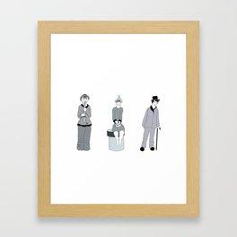 urban dwellers. Tbilisi Framed Art Print