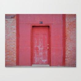 Door of Life Canvas Print