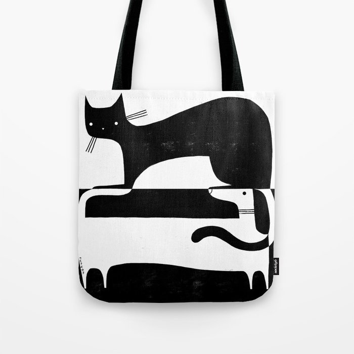 BLACK & WHITE 2 Tote Bag