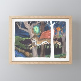 I Am in the Woods With You Framed Mini Art Print