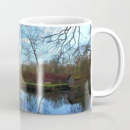 Deserted Old River Boathouse Coffee Mug