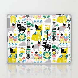 Scandinavian French Bulldog Laptop & iPad Skin