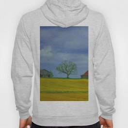 Lone Tree on a Hill Hoody