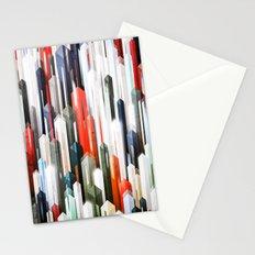 obelisk posture 2 (variant 2) Stationery Cards