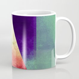 Triangle Composition VII Coffee Mug