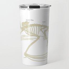 The Eastern Pipistrelle Bat Skeletal System Travel Mug