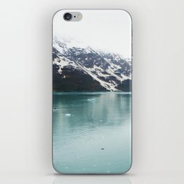 Hubbard Glacier Snowy Mountains Alaska Wilderness iPhone Skin