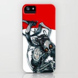 demon rabbit iPhone Case