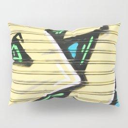 Urban Street Art Collection in Yellow Pillow Sham