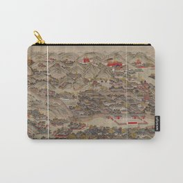 Panoramic view of the Rehe Imperial Palace between 1875-1900 [Rehe xing gong quan tu] Carry-All Pouch