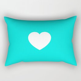 Tealtastic Love Rectangular Pillow