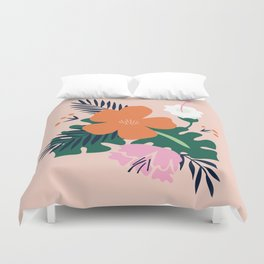 Light Spring Flowers Duvet Cover