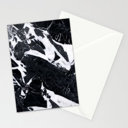 Classic Black Marble Stationery Cards