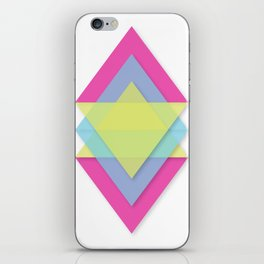 CMY Pattern iPhone Skin