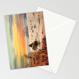 A Great Day For Hunting Ducks Stationery Cards
