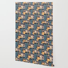 Night Castles (Pattern) Wallpaper