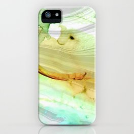Modern Abstract Modern Art - Seeing Is Believing - Sharon Cummings iPhone Case