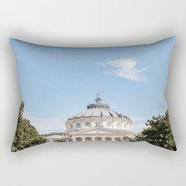 Roumania, Romanian Athenaeum, Bucarest Rectangular Pillow