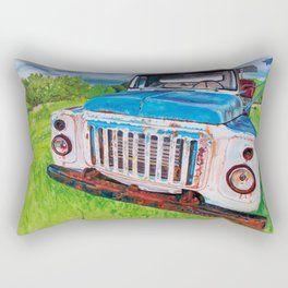 Beat up truck Rectangular Pillow