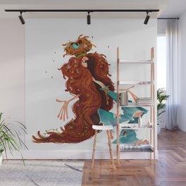 Cheerful Hippie Wall Mural