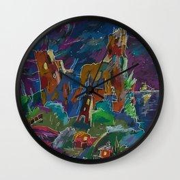 South Night Wall Clock