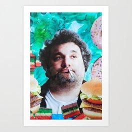Artie Lange Art Print