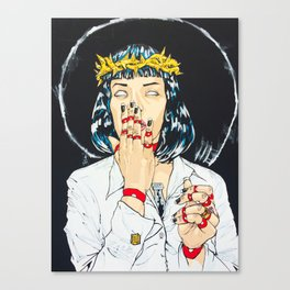Mother Mia (Mia Wallace) Canvas Print