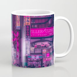 Pink Light District Coffee Mug