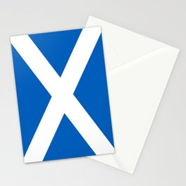 National flag of Scotland - Authentic version to scale and color Stationery Cards