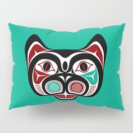 Northwest Pacific coast Haida Kitty Pillow Sham