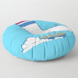 Lost Sock Skater Floor Pillow